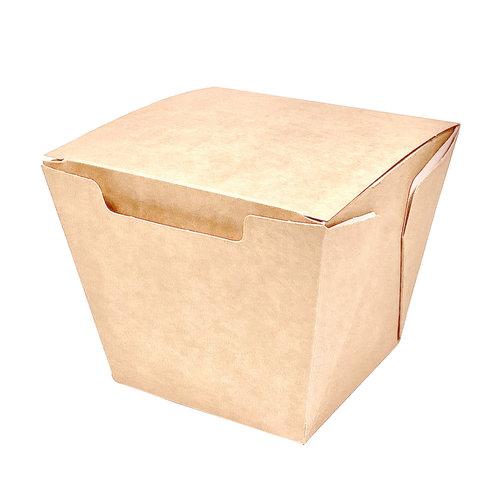Caixa Para Comida Oriental Pequena 450ml Kraft - Cx. completa 300 unidades