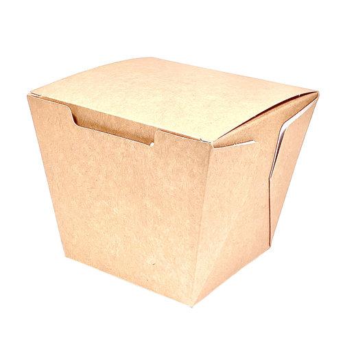 Caixa Para Comida Oriental Média 780ml Kraft - Pacote 25 unidades