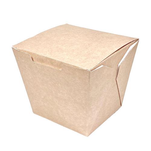 Caixa Para Comida Oriental Grande 950ml Kraft - Pacote 25 unidades