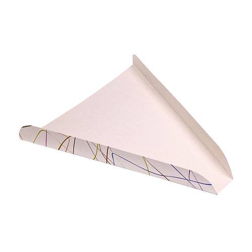 Triângulo Fatia de Pizza Decorado Deluxe  - Cx. completa 500 unidades