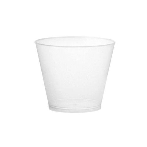 Copo de Plastico Caipirinha Cónico CR7 220ml (Flexivel) PP embalagem de 100 unidades