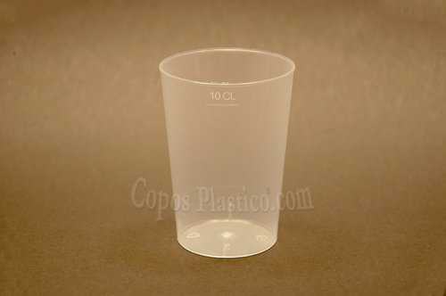 Copo de Prova 120ml (Cristal) PP 100 Unidades