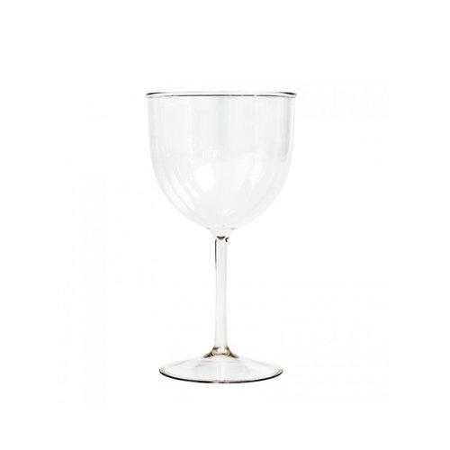 Copo de Vinho Premium 250ml Inquebrável (PC) Transparente Cx Completa 28 unidades