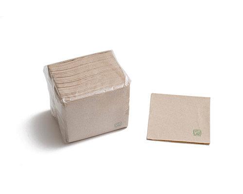 Guardanapos Papel 2 capas 34x34cm ECO - manga 100 unidades