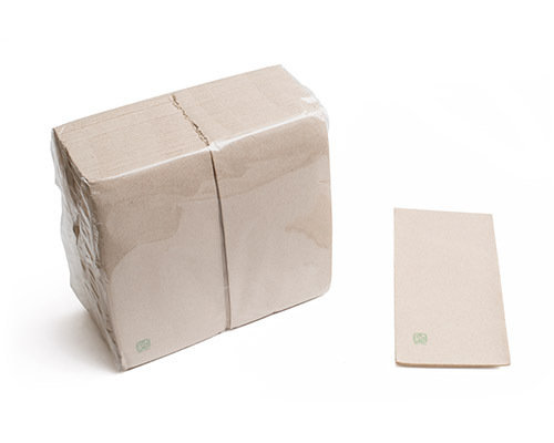 Guardanapos Papel 2 capas 40x40cm 1/8 ECO - manga 60 unidades