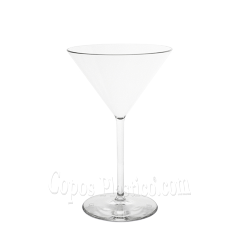 Copo Martini 270ml Inquebráveis (PC) Caixa Completa 24 Unidades