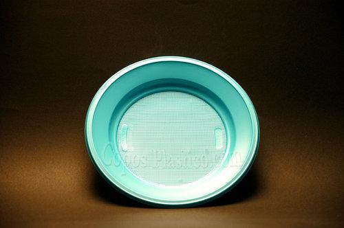 Prato Plástico Descartável Sobremesa 18,5 CmCx completa  1000 Unidades Azul