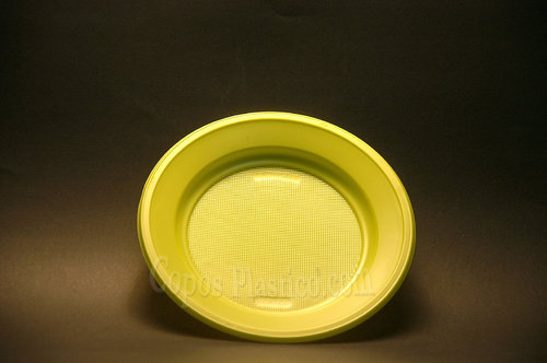 Prato Plástico Descartável Sobremesa 18,5 Cm Cx completa  1000 Unidades Verde